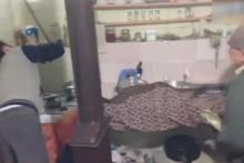 Kahkahaya boğan fare yakalama operasyonu! Böyle heyecan görülmedi
