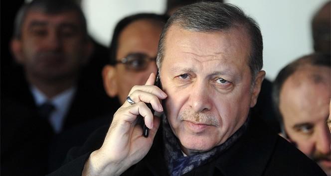 Cumhurbaşkanı Erdoğan, Pakistan Başbakanı Han ile telefonda görüştü